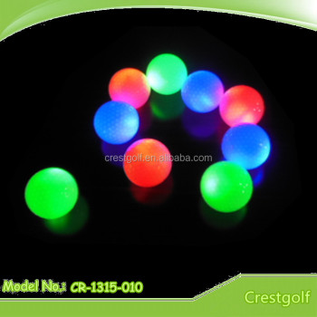 Quality Assurance LED Golf Balls / Night Golf Balls