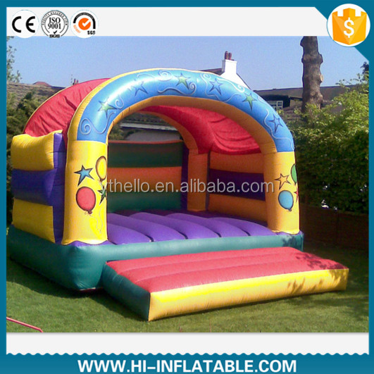 Perfect kids amusement printing inflatable bouncy castle