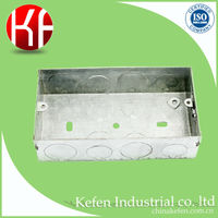 galvanized electric metal distribution box bs4662