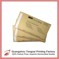 Kraft Paper Envelope Customized Printing In