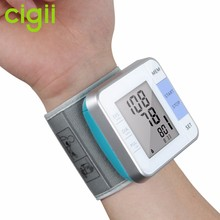 Updated Cheapest Talking portable wrist automated blood pressure monitor