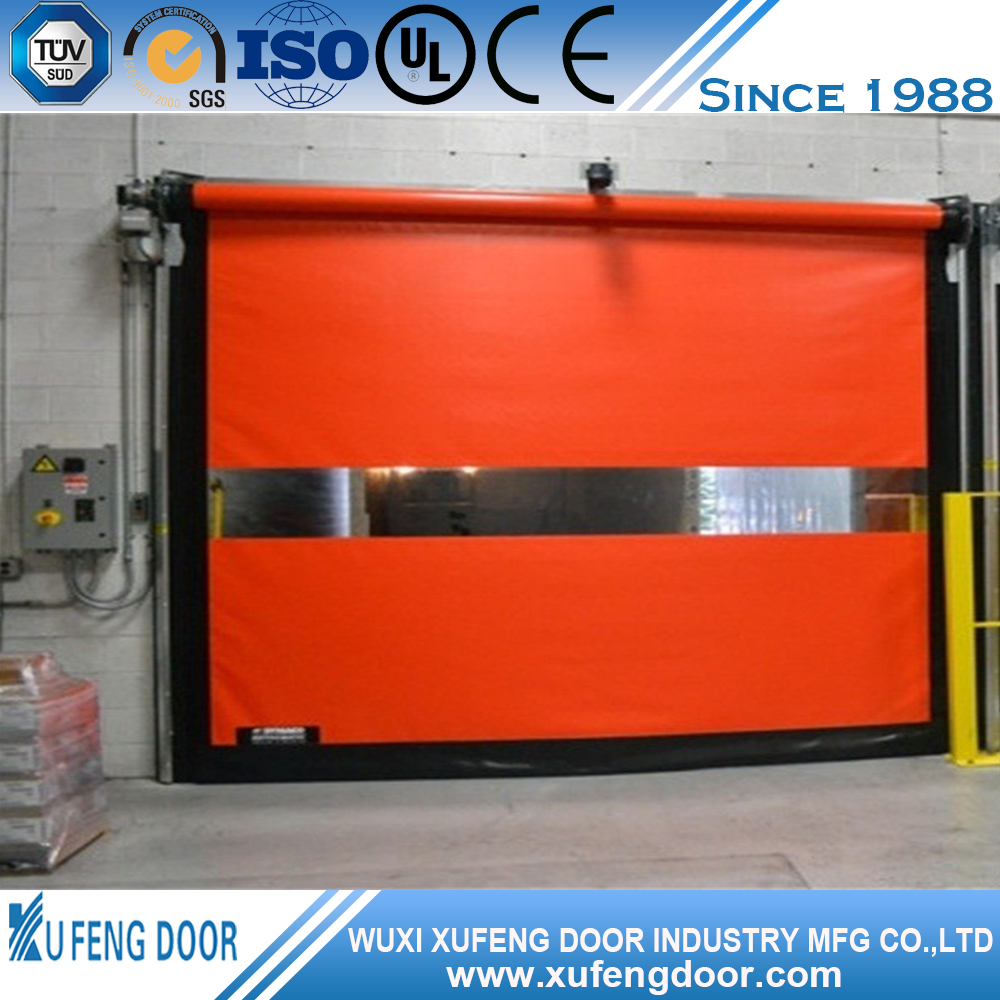 Pvc Plastic Fabric Flexible Automatic Roll-Up Door