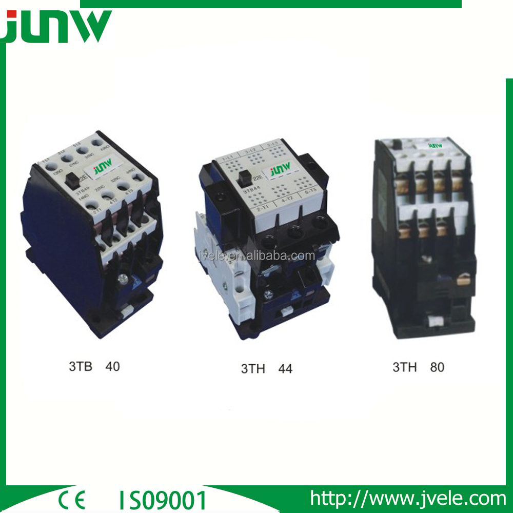 Chinese manufacture hot sale cheap 3 pole 4 pole 2no 2nc ac dc contactors