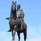 King George VI Riding On Horse Bronze Monument Statue Life Size Hero Garden Sculpture