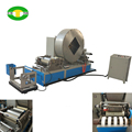 Smoking paper slitting and gluing machine