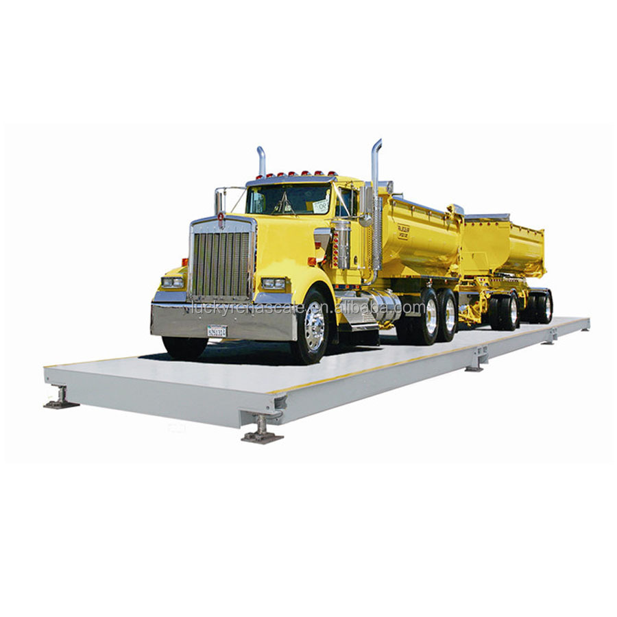 SCS digital weighbridge 60 ton truck scale