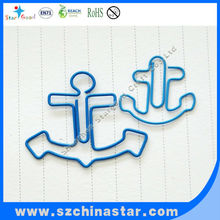 Perfect in workmanship promotion anchor shape paper clip