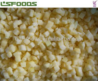 good quality Chinese Frozen IQF apple 2014