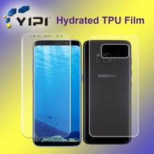Free Sample TPU Invisible Shield Screen Protector, Factory Price Full Cover Anti Shock Screen Protector For S8 Plus~~