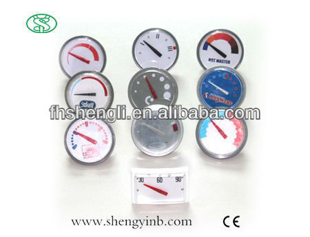 customized electric water heater thermometer from ningbo china