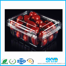 Accept Custom Order thermoformed plastic clamshell packaging container for fruit,food