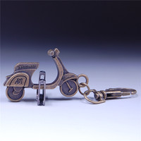 Customized promotional motorcycle shape key rings for sale