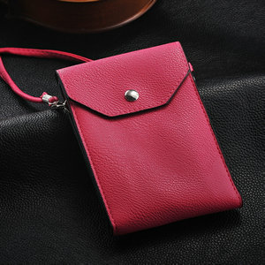 Fashion noble first layer leather phone bag , mobile phone carry bag