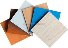 cheap price good quality furniture backboard melamine face mdf with E2 glue