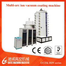 Cczk-Ion Professional Stainless Steel Flatware Thin Film PVD Coating Machine Color Gold, Rose Gold, Black, Blue Coating