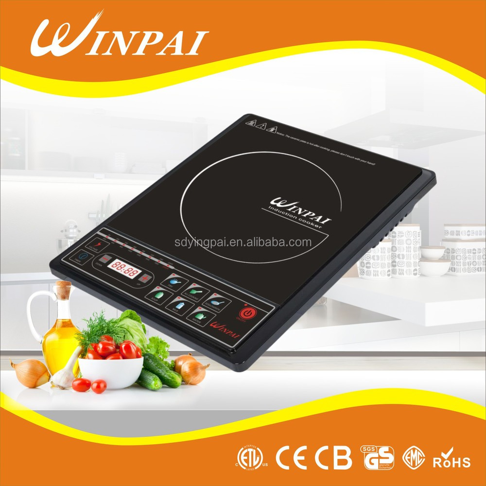 Gold Supplier High quality one burner induction cooker solar powered hot plate