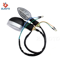 New Motorcycle 12V 10mm LED Turn Signal Light Lamp For Honda Yamaha Kawasaki KTM Street Sport Off Road Chopper Bike