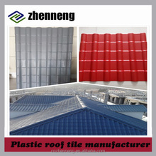 China cheap chinese roof tile plastic roofing sheet with price