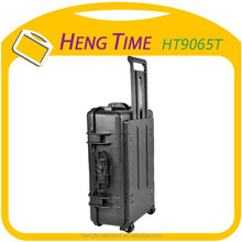 Heavy Duty Camera Devices Waterproof Trolley Plastic Tool Case