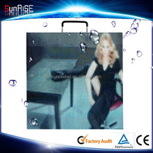 Sunrise P5mm hd super thin mobile clear video display led screen wall advertising boards for stage events