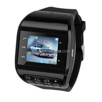 "1.33"" 26K colors TFT touch screen GSM Phone PS-Q8 Dual Sim Wrist Watch Mobile Phone"