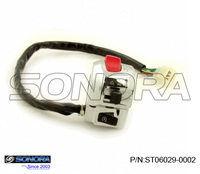 Scooter Right handlebar Switch for BAOTIAN QT-11, RETRO,TOMMY(P/N: ST06029-0002)