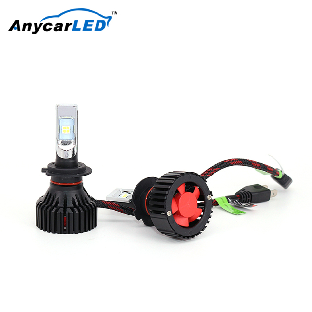 Anycarled Hb4 8G 9005 Auto Bus Car H4 H3 Headlight Projector Type Led Bulbs Headlight