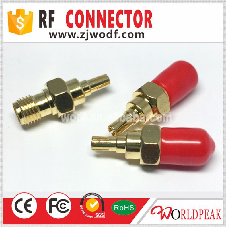 RF plug female to male crc9 male hdmi to female vga rf cable adapter