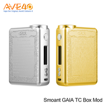 A Newe Innovation Smoant GAIA TC Box Mod 200W by dual 18650 batteries VS Smok G-Priv