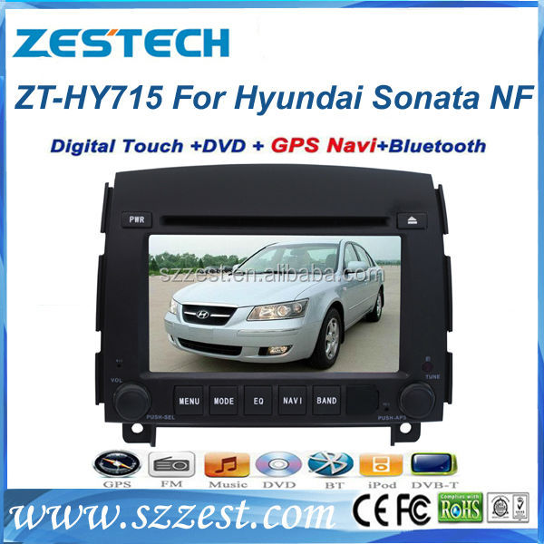 ZESTECH car dvd player for hyundai sonata NF 2006 2007 2008 2009 2010 2011 gps navigation