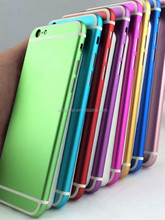 Whosale Colorful Back Cover Housing For Iphone 6,For Iphone 6 Back Cover Housing With Middle Frame