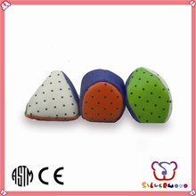 ICTI Factory promotional branded wholesale pu hacky sack & foot ball