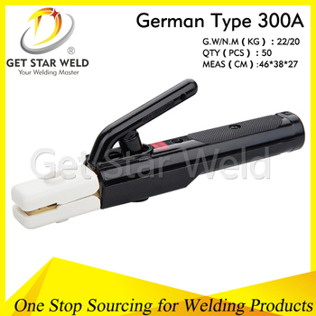 Germany type 300A 500A 600A electrode holder
