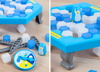 Penguin Trap interactive table game save penguin toy game with family/New product intelligent set Icebreaker game toys plastic