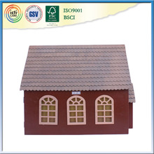 With top roof wooden house, online shopping singapore for kids