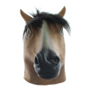 Best Selling Open Eyes Leather Realistic Horse Head Hood Male Bondage Sex Toys Female Restraint Head Hood Full Face Animal Mask