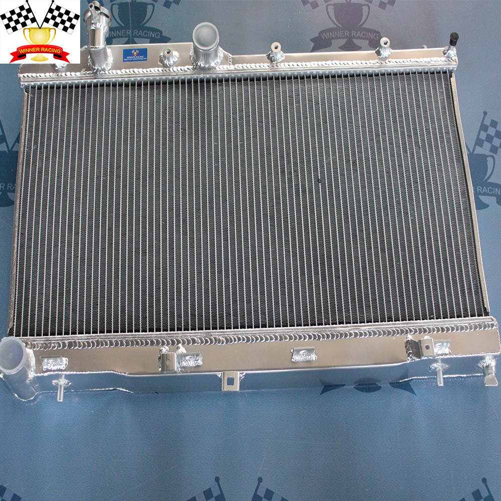 factory aluminum plate fin type auto car radiator types wholesale