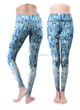 Custom women sublimated running tights
