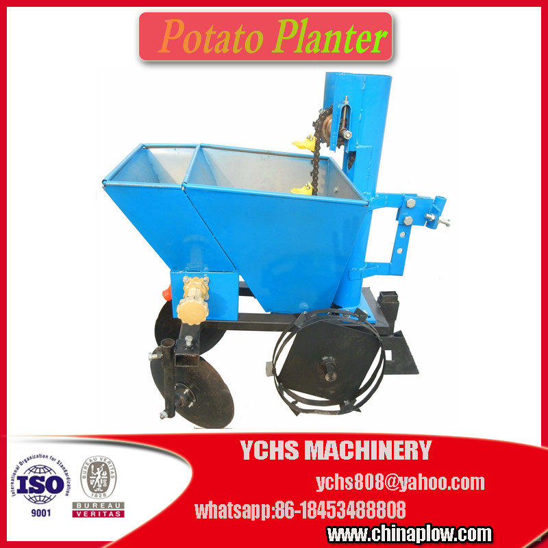 1 row hand push potato seeder planter
