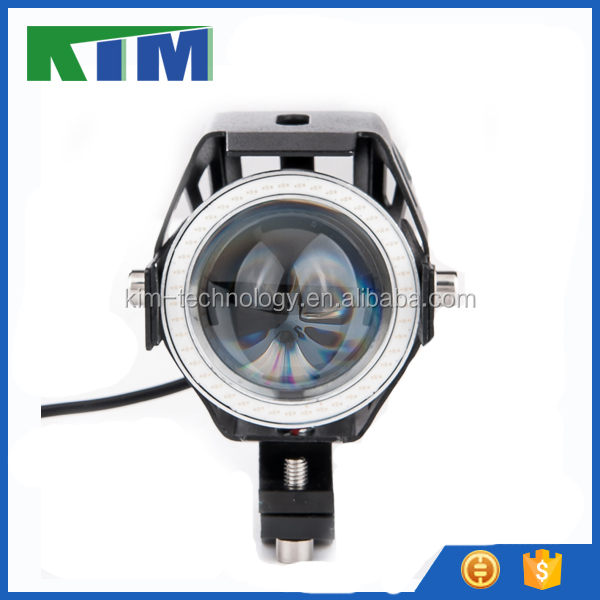 High quality 12V-80V DC 20W U7 led motorcycle lighting