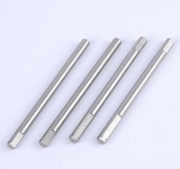 Long mild steel shaft supplier precision turning shaft cnc machining customized