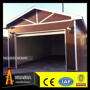 High quality prefab garage shed building made in china