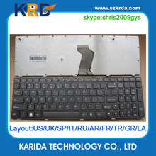 New Replacement for Lenovo laptop keyboard G570 G580 Z560 Z580 B590 B570 V570 keyboard US black
