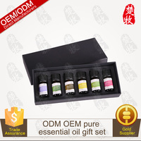 100% Pure And Natural Aromatherapy Essential Oil Gift Set