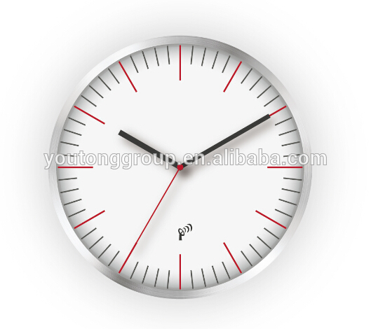 plastic manufacture Electronic wall clock solar