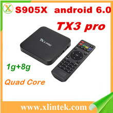 xianlin TX3 pro s905 quad core wifi android tamil tv box mini pc stream smart tv box