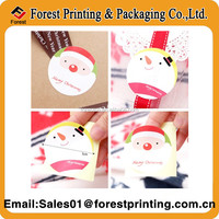 Adhesive decoration PVC merry Christmas sticker/Promotional Removerable Christmas Sticker