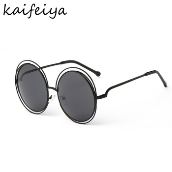 Vintage Women Sunglasses Round Sunglasses
