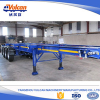 Factory customized air suspension container dolly trailer