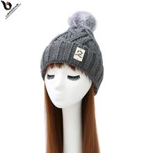 Solid Color New Fashion Knitted Adult Wool Hat